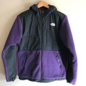 The North Face Denali Hooded Fleece Jacket / S